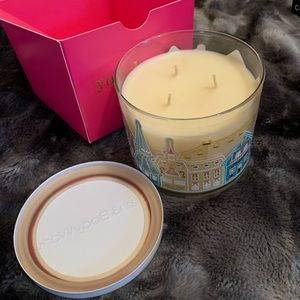 Bath & Body Works Accents - Hot Cocoa & Cream Candle with Gift Box 🎁🍫